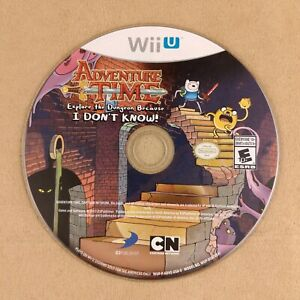 Nintendo Wii U Adventure Time Explore the Dungeon Because I Don't Know Disc Only