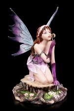 ELFES Figurine - Loreley Macht Seifenblase - Fée FANTASIE fée Statuette déco
