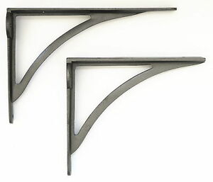 Single Cast Iron Victorian Ironbridge Shelf Bracket – Simple Arch Wall Brackets