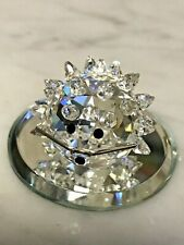 Swarovski Crystal Small Hedgehog Porcupine - No Box