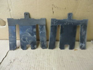 LINCOLN MARK VII BUMPER SHIM BUMPER MOUNTING SHIMS 2 pieces OEM GOOD USED