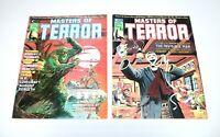 Masters Of Terror #1 & #2 Curtis Magazine  Gray Morrow/Dan Adkins Cover Art