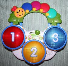 BABY EINSTEIN DISCOVERY DRUMS Baby Toy Musical 3 Languages 3 Modes of Play 90604