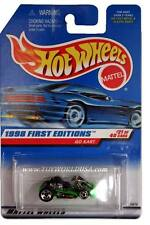 1998 Hot Wheels #651 First Edition #21 Go Kart (blue car card)
