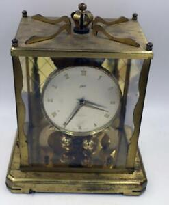 1959 SCHATZ GERMANY #54 1000 DAY ANNIVERSARY CLOCK FOR PARTS OR REPAIR