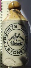 Tooheys Limited Sydney Blob Top Stone Ginger Beer Bottle