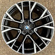 "Genuine BMW X5M X6M 21"" Front Alloy Wheel 809M M Performance 36118090796 F95 F96"