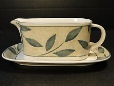 Mikasa Intaglio Natures Song Gravy Boat with Underplate CAA06 Mint