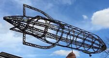 Large Antique Erector Airship Zeppelin Dirigble Model 46 inches long.