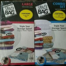 Original Space Saver Bags Vacuum Seal Lot of 7 Variety Jumbo Large Carry On New