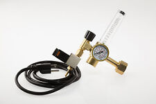 CO2 Regulator With Electric Solenoid for Hydroponics and Beer Making