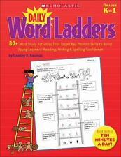 Daily Word Ladders: 80+ Word Study Activities That Target Key Phonics Skills ...