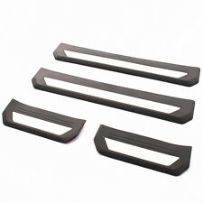 4Pcs Door Sill Scuff Plate Cover Trim For Honda Vezel HR-V HRV 2014-2017 New