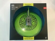 NIB Sealed Brookstone Camera Frisbee 720p -Record Flight Video Flying Object VFO