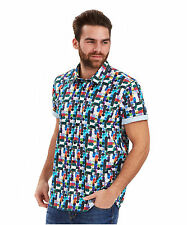 Men's Regular Spotted Casual Shirts & Tops