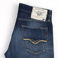 Replay Hommes Jennon Slim Jean Taille W33 L28 AOZ751