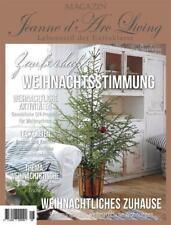 Jeanne d 'arc Living Magazin DEZEMBER Zauberhafte Weihnachtsstimmung Zeitschrift