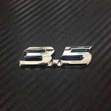 Car 3.5 ABS Chrome 6.5cm for Crosstour Trunk Badge Emblem Sticker