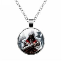 BdM - Assassins Creed EZIO - Jewelry Pendant Necklace - NUOVO Gashapon