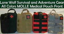 Custom Enhanced Tactical Trauma EMT MOLLE Pouch First Aid Kit. Ships from USA!!!