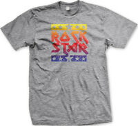 Rock Star Famous Concert Vintage Music Festival FREE SHIPPING New Mens T-shirt