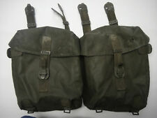 SWISS MILITARY DUAL AMMO POUCH. EACH IS 8x7x3 MULTI ATTACHMENT STRAP W/ CLIPS.