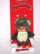 Monchhichi Friend Tanu Raccoon Key Chain Monchichi Sekiguchi Kiki 9cm Mascot