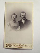 Freiberg i .S. - Paar - Mann und Frau - Portrait / CDV