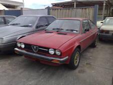 Alfa Romeo Sprint  1980  For SALE Front B/BAR