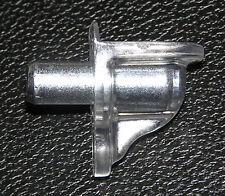 8 Trasparente 5mm Mensola Supporto Chiodi + Metallo Mattarello Ideale per Cucina