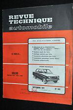 Revue technique automobile Volvo 142/144/145 n° 305