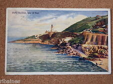 Vintage Postcard: Port Skillion, Isle of Man, Boots Chemists, 1908