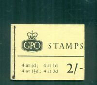 Great Britain  2s Wilding Phosphor  April 1961  Booklet  SG N4p