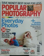 Popular Photography September 2015 Everyday Photos 36 Easy Tips FREE SHIPPING sb