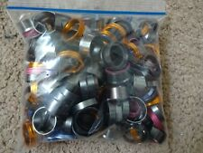 Bag Rod Building Wrapping Diff Color Aluminum Decorative Trim rings sleeves