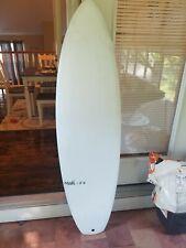 "Modi Surf Kitesurf Board 5'6"" White Blue Sun Glass"