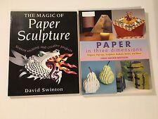Magic of Paper Sculpture David Swinton Paper in Three Dimensions Origami Pop-ups