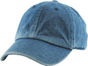 Junior Youth Kid Size Cotton Dad Hat Adjustable Baseball Cap