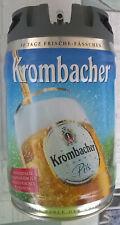 Bidone fusto birra KROMBACHER 5 litri VUOTO