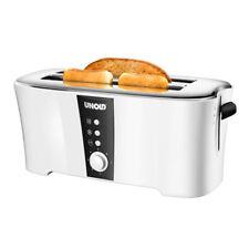 UNOLD 38020 Design Dual 4-Scheiben-Doppel-Langschlitz-Toaster