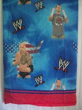 WWF WWE Wrestling Flat Sheet Full Size THE ROCK Dwayne Johnson, CM Punk WWF WWE