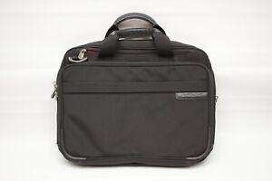 Briggs & Riley Travelware Laptop Tablet Case Black Balistic Nylon NO STRAP