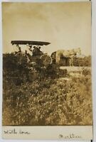 RPPC Victorians Out on Carriage Ride 1905 Brooklyn NY Postcard E6