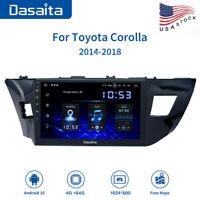"Dasaita10.2"" Android 10 Car GPS Head Unit for Toyota Corolla 2017 Stereo Radio"