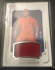2018 National Treasures Wesley Sneijder Game Used Jersey Relic 26/99 Netherlands