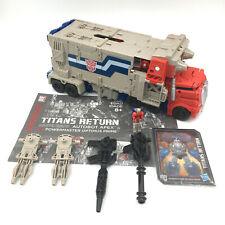 TRANSFORMERS Titans Return POWERMASTER OPTIMUS PRIME Leader COMPLETE Generations