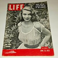 June 23, 1952 LIFE Magazine COKE Ad 50s advertising ad ads FREE SHIPPING 6 24 22