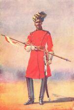 India. Gov-General's Bodyguard Daffadar Sayyid of Shahpur(Musalman) 1911 print