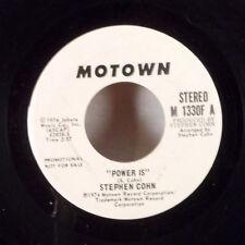 """Stephen Cohn Power Is 7"""" 45 Motown WLP Promo dj copy Northern Soul VG+"""