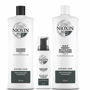 Nioxin System 2 for Progressed Thinning Natural Hair  Mutliple Variations